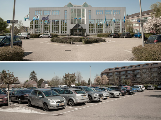 parkeren kantoor Limburg